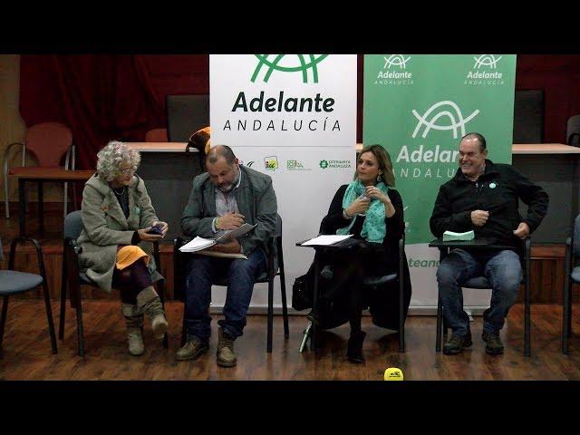 Adelante Andalucía explica en Cartaya el programa de cara a la elecciones del domingo