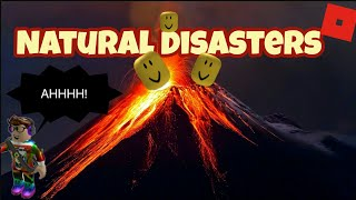 Roblox Natural Disasters (online daters)