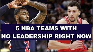 5 NBA Teams That Lack Leadership