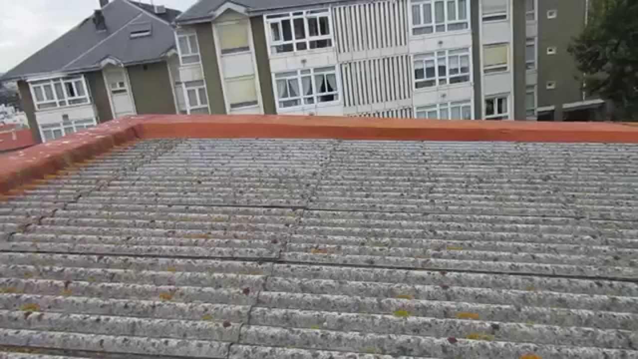 Como rehabilitar tejado de uralita youtube - Tejados de uralita ...
