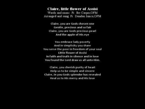 Clare (Little Flower of Assisi)