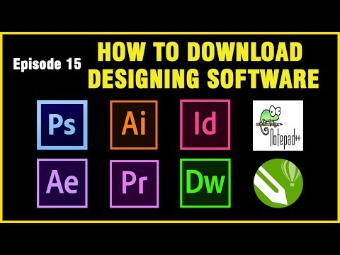 Web And Graphic Design Software's  Download | Tamil | Ep15