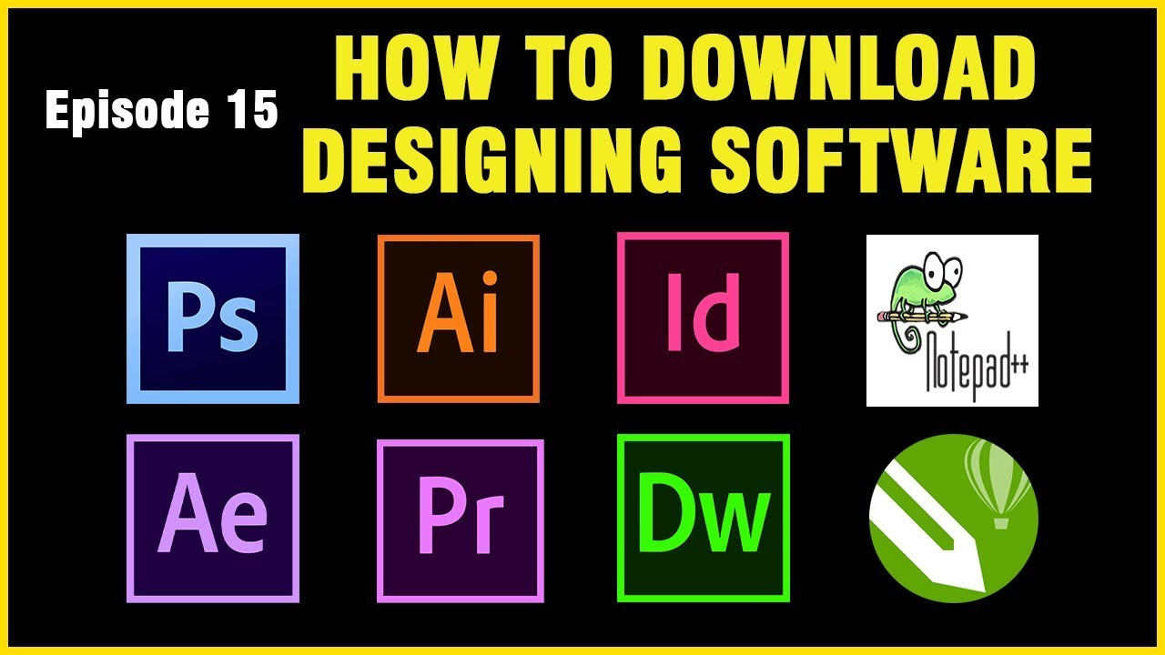 Web And Graphic Design Software S Free Download Tamil Ep15 Youtube