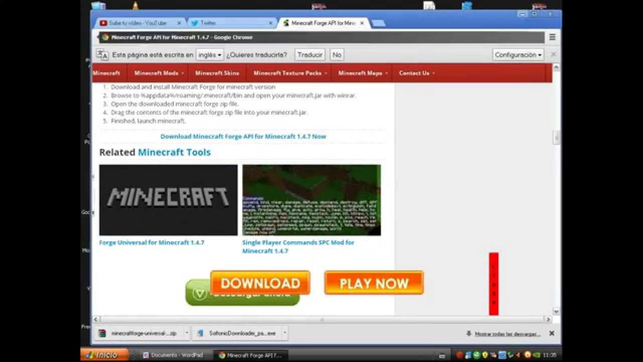 minecraft forge api para minecraft 1.4 7