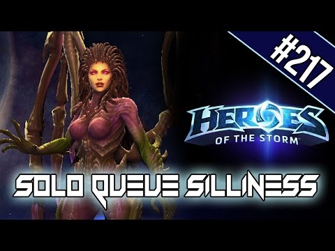 SUSTAINED - SOLO QUEUE SILLINESS #217 [HEROES OF THE STORM HD]