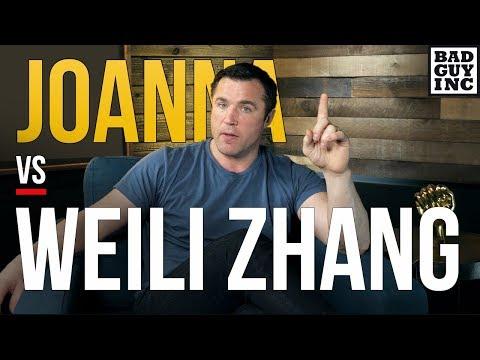 It's about time...Weili Zhang vs Joanna Jedrzejczyk