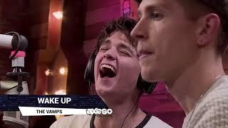 The Vamps en programa de radio en México Cantan Twist and Shout ade...
