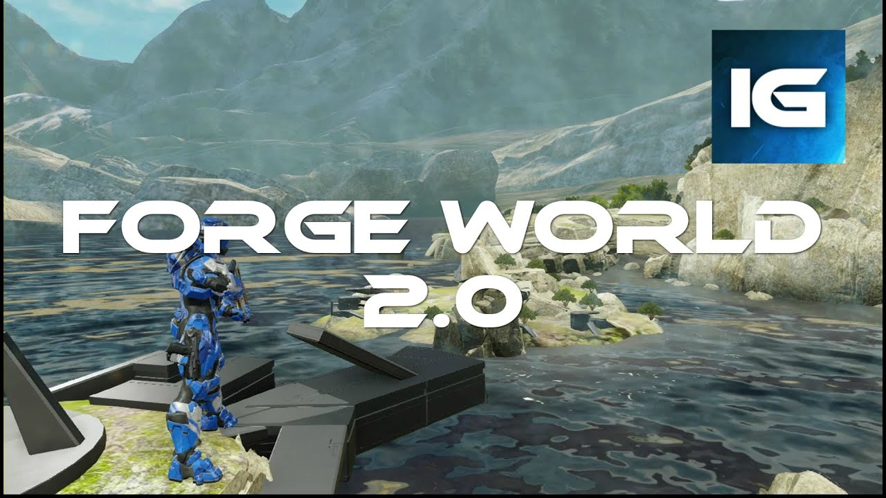 Halo 5 - Forge Maps - (Forge World 2 0 Map Showcase)