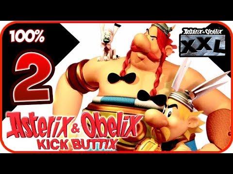 Download Asterix & Obelix XXL / Kick Buttix Walkthrough Part 2 (PC, PS2, Gamecube) 100% - Normandy (1/2)