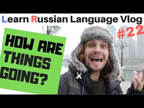 Casual Chat About How Are Things Going - Russian Vlog #22 (subtitles)