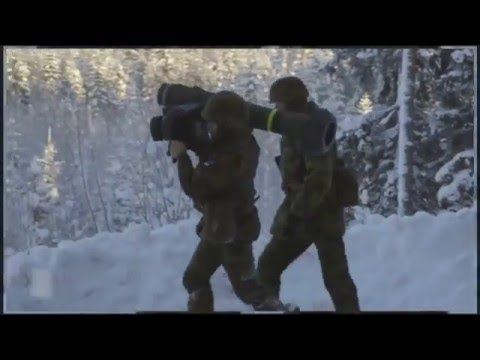 The Estonian Defence Forces Javelin Anti Tank missile training