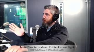 Nate Diaz Turns Down Eddie Alvarez Fight, But Why?