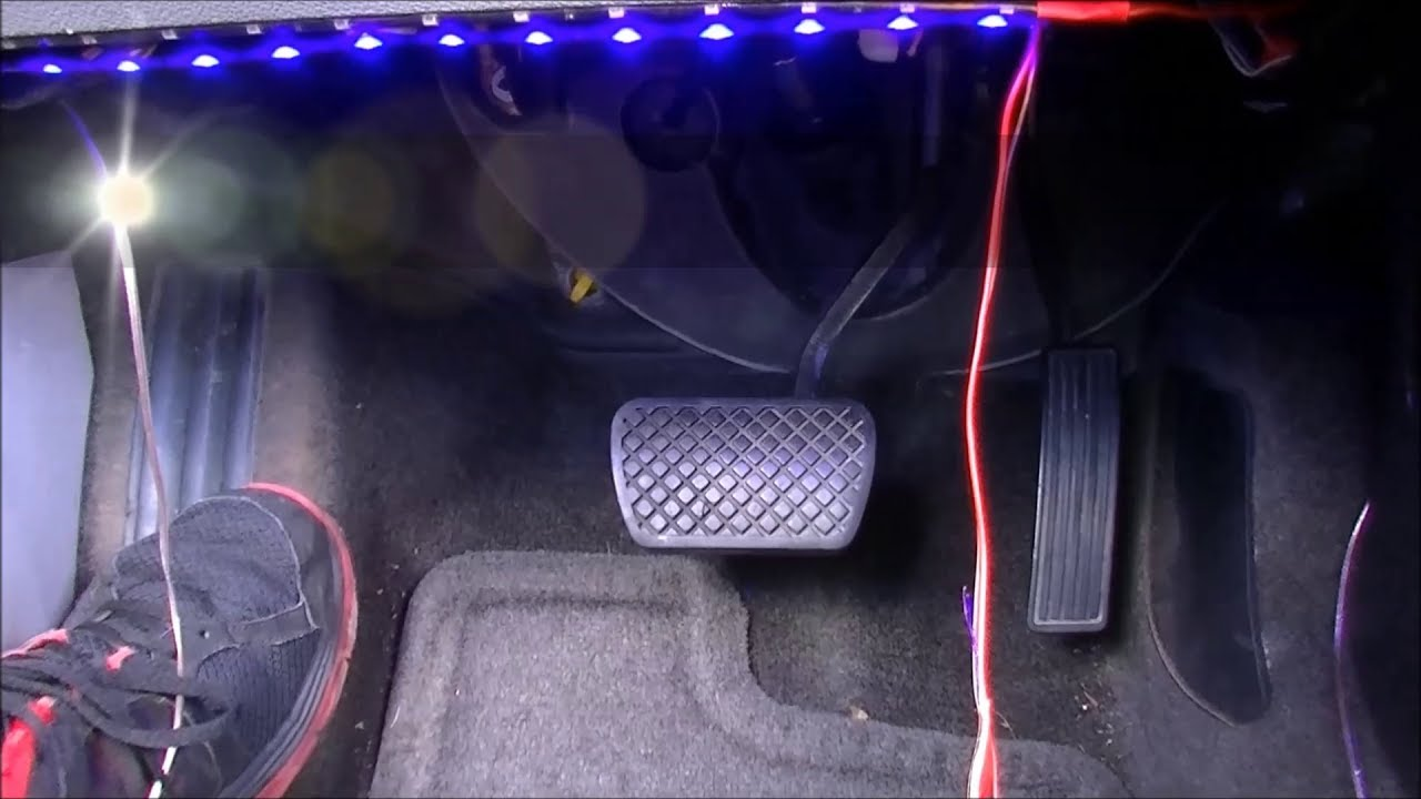 How to install led strip floor footwell lights chevy cobalt how to install led strip floor footwell lights chevy cobalt pontiac g5 tutorial aloadofball Images