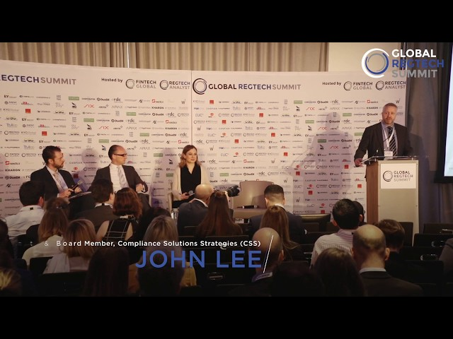 Global RegTech Summit 2019 - THE COMPLIANCE LEADERS' PERSPECTIVE