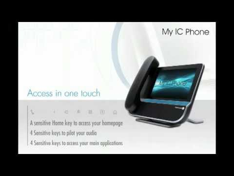 Netcom Group: Alcatel-Lucent - OmniTouch 8082 MyIC Phone - P