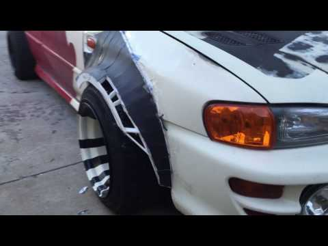 The Beginning- How to Build Wide Body Fenders