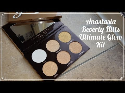REVIEW: Anastasia Beverly Hills Ultimate Glow Kit