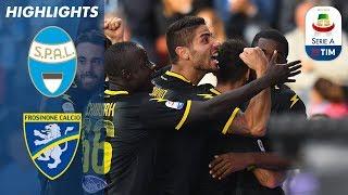 SPAL 0-3 Frosinone | Frosinone Get First League Win | Serie A