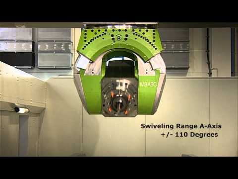 6-axis milling machine