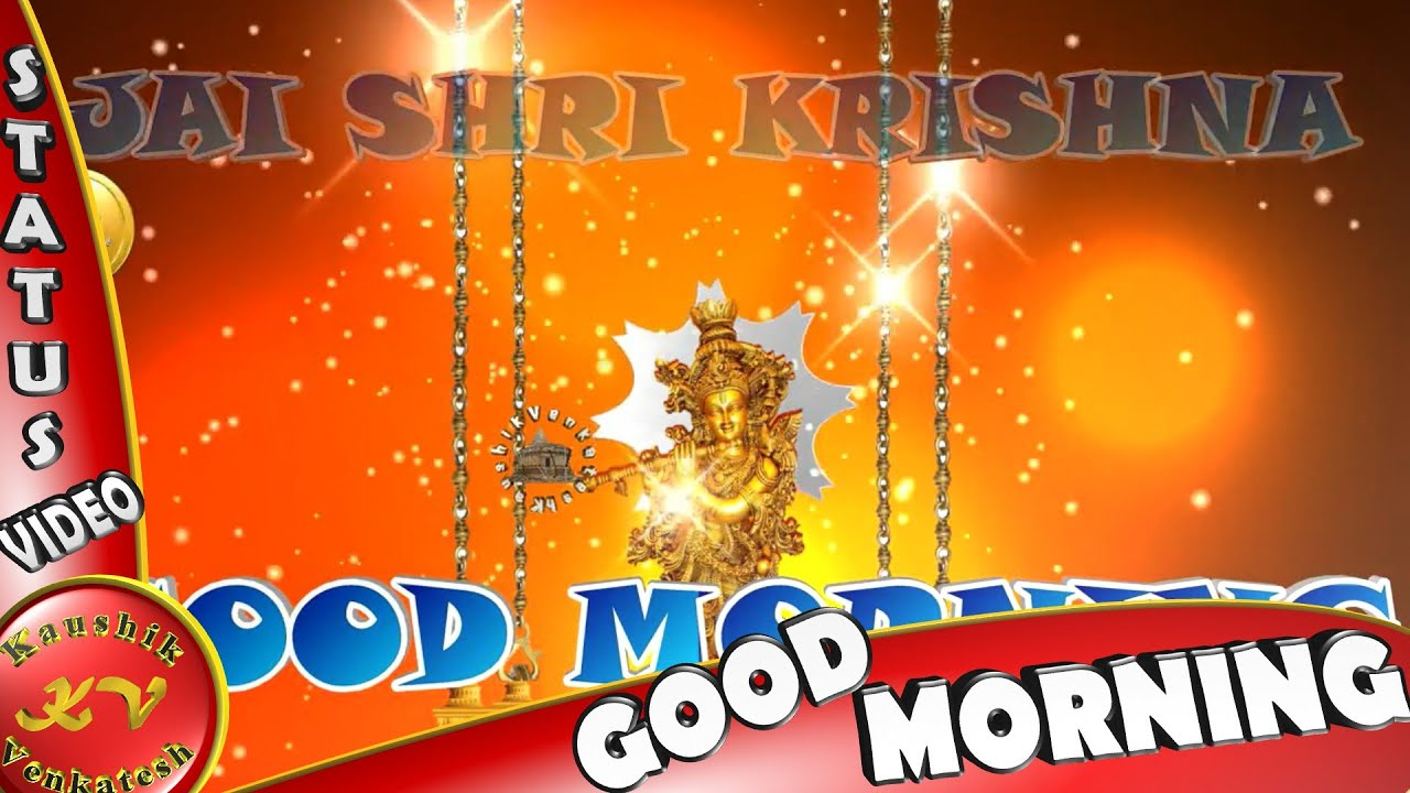 Good morning krishna video wisheswhatsapp videogreetings good morning krishna video wisheswhatsapp videogreetingsanimation messagesquotesdownload m4hsunfo Gallery