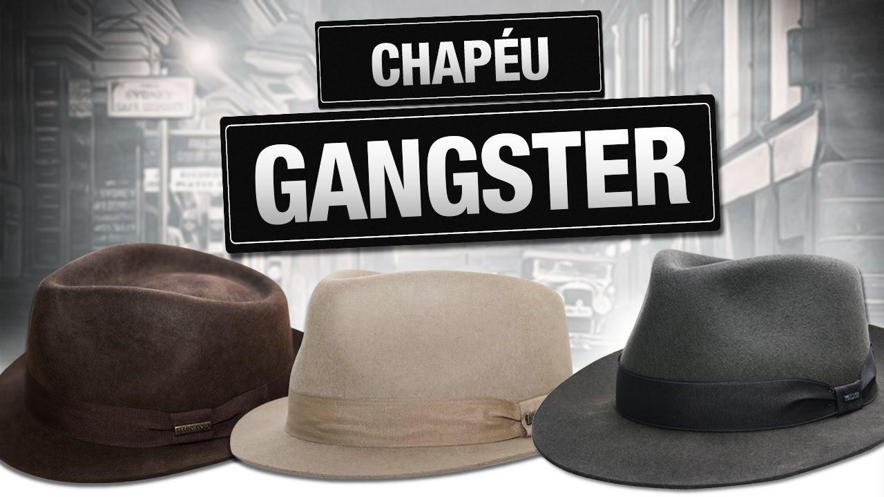 e591e685ed1ae CHAPÉU ESTILO GANGSTER - YouTube