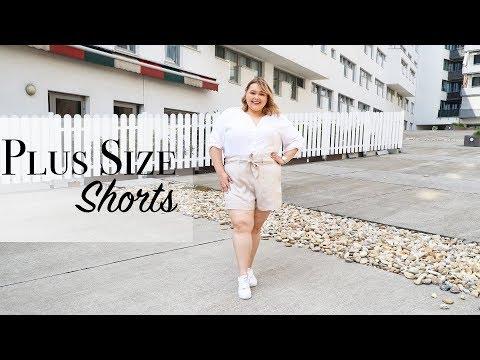 ЛЕТНИЕ ШОРТЫ БОЛЬШИХ РАЗМЕРОВ   Заказ шорт Plus Size из HM+