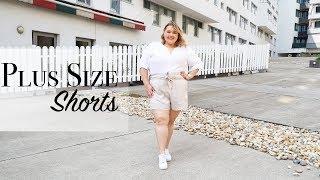 ЛЕТНИЕ ШОРТЫ БОЛЬШИХ РАЗМЕРОВ ||Заказ шорт Plus Size из HM+