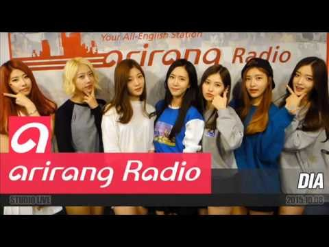 151008 DIA (다이아) @ Arirang Radio Sound K Full