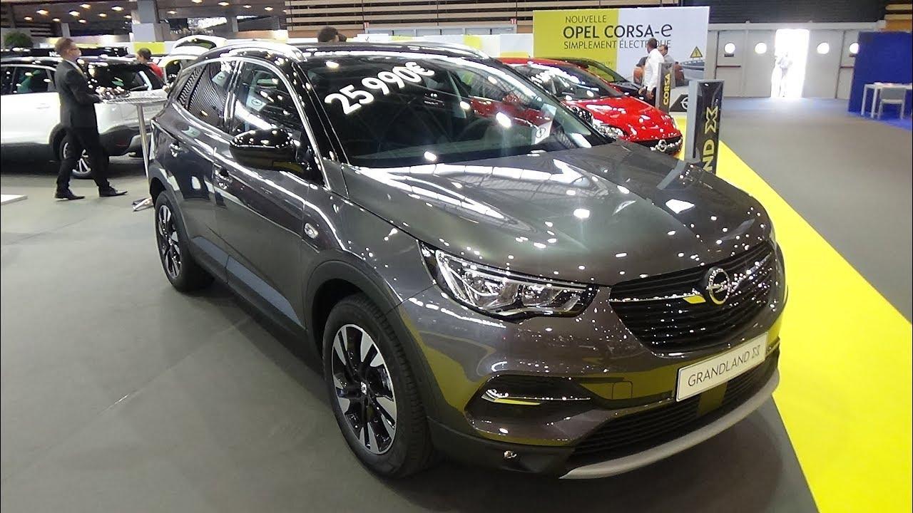 2019 opel grandland x design line 1 2 turbo 130 exterior and interior salon automobile lyon 2019