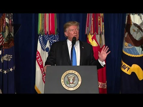 President Trump Addresses the Nation at Fort Myer, Virginia