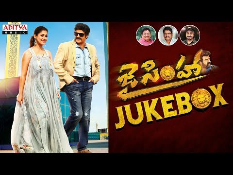Jai Simha Jukebox || Balakrishna, Nayanthara || KS Ravi Kumar || C Kalyan ||  Chirantan Bhatt