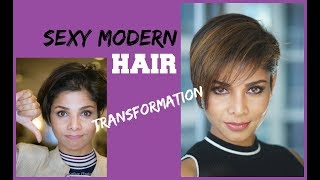 2018 Hair transformation From boring to sexy/ Haircut and Hair color/Blush with me