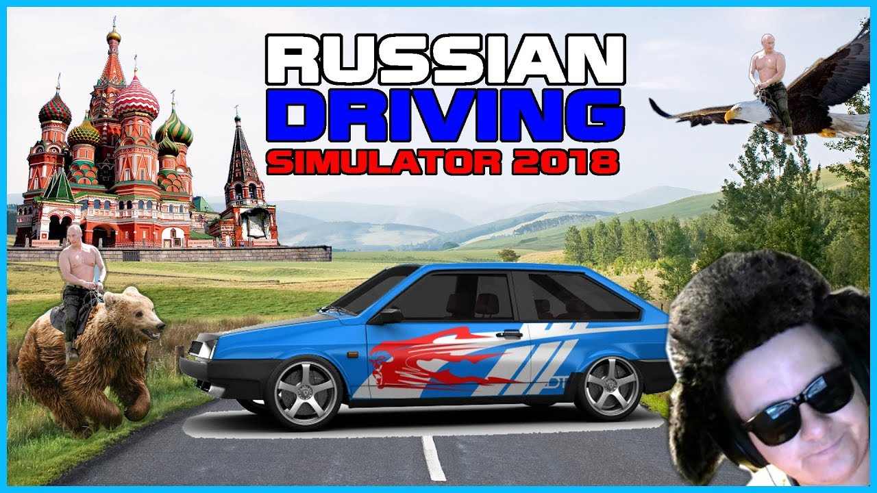 Russian Driving Simulator 2018 Russian Car Driver Gameplay Youtube