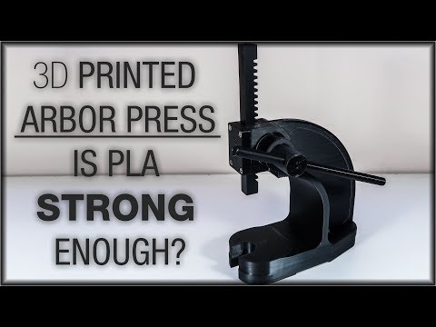 3D Print Arbor Press. Worth the time?
