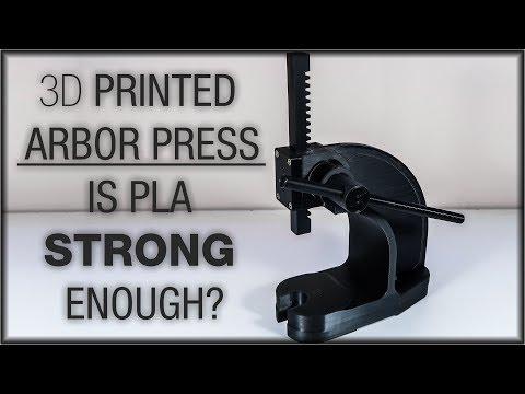 3D Print Arbor Press. Worth the time?