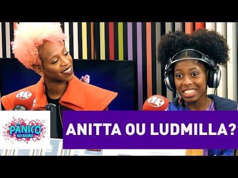 Karol Conka comenta o que acha da Anitta | Pânico