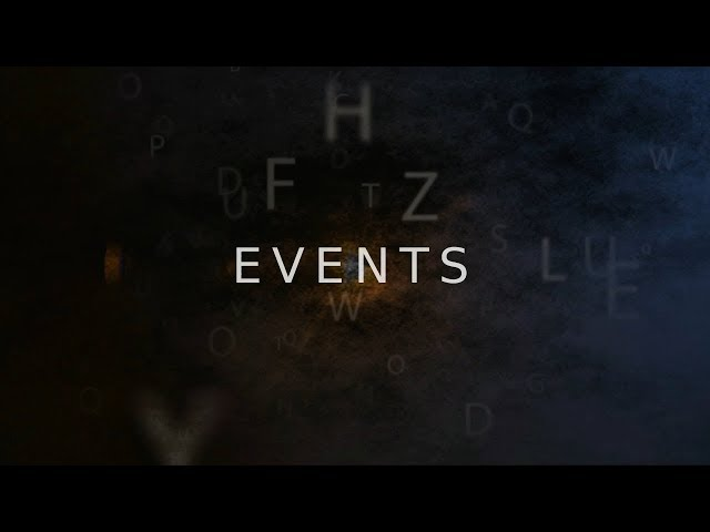 Events - Maggio 2018