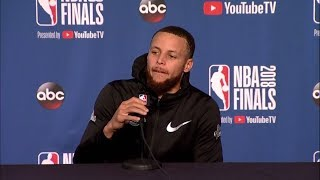 Stephen Curry NBA Finals Game 4 Media Availability | Cavaliers vs Warriors | June 7 2018