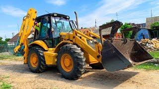 видео: Трактор сломался и погрузчик – Сборник весёлых историй