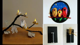 waste material crafts | craft items /craft items/easy wall art/recycled art craft/ amazing pixies