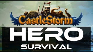 CastleStorm (PC Steam Version) - Hero Survival Gameplay