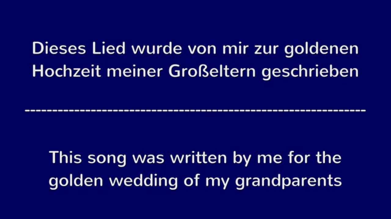 Lieder zur goldenen hochzeit