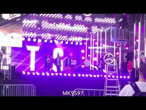171115 BTS GOGO Remix REHERSEAL JIMMY KIMMEL MINI CONCERT
