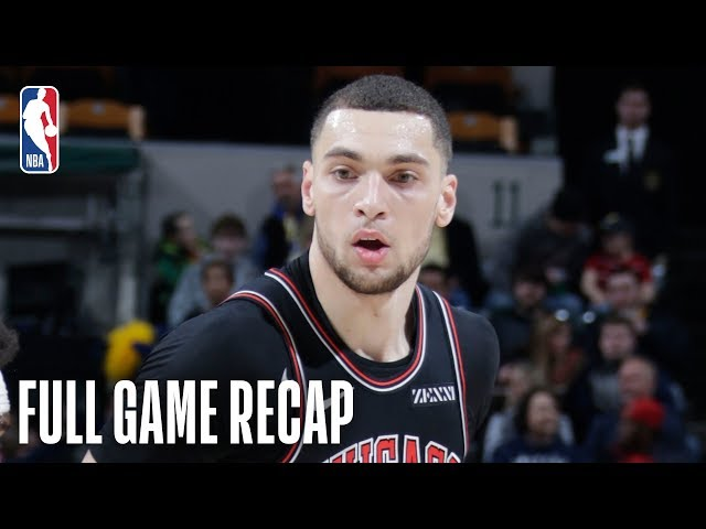 BULLS vs PACERS   Zach LaVine Showcases His Highlight Dunks In Indiana   March 5, 2019