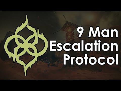 Destiny Warmind: 9 Man, Level 7 Escalation Protocol