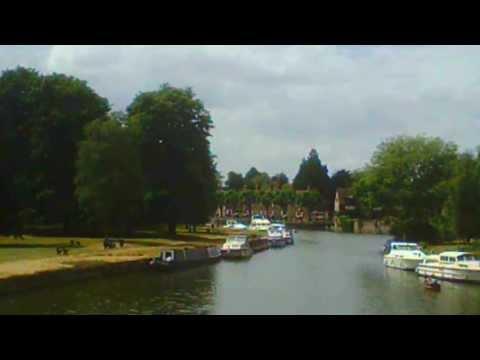 Abingdon, Oxon, Bridge St, The Bridge, The River Thames 24th July 2013