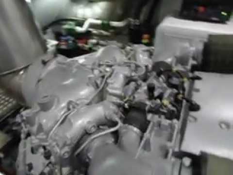 ENGINE MTU 16V2000 M93 2 X 2400 CV