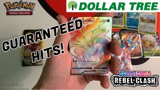 How to get RAINBOW RARE Pokemon Cards from the Dollar Tree