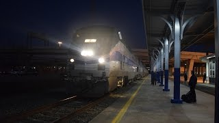 AMTK 184 leads Sunset Limited #1 - Houston, TX!