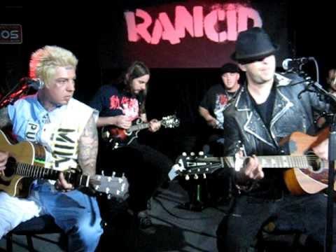 Rancid- East Bay Night Acoustic- Performed Emeryville, CA 07-09-09